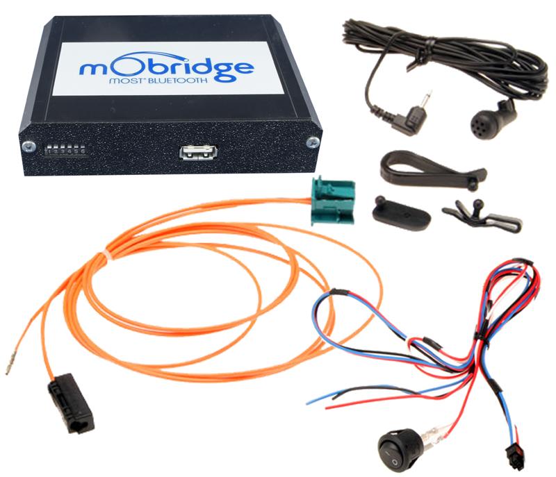 mObridge Bluetooth Schnittstelle für Fahrzeuge mit MOST