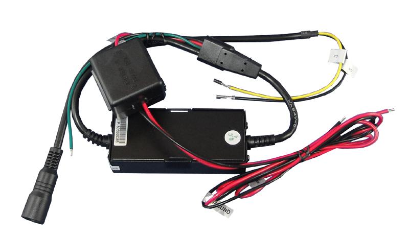 Adapterkabel 4Pin MiniDin auf IVECO inkl. 24/12V Wandler
