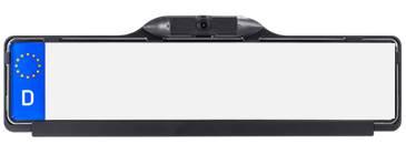 RFK NTSC 1/3 Zoll CMOS, 150°, Kennzeichenhalter, Linien