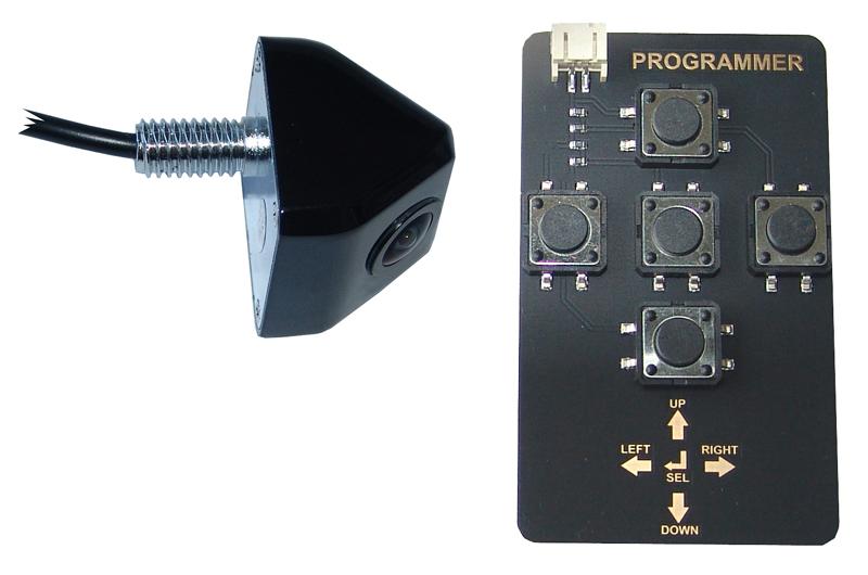 RFK NTSC 1/4 Zoll CCD SONY,165°,Mini-Aufbaukamera,Linien