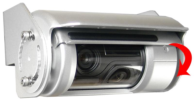 RFK PAL 2 x 1/3 Zoll CCD 53/150°,Twin-Shutter,IR,Heizung,Mik