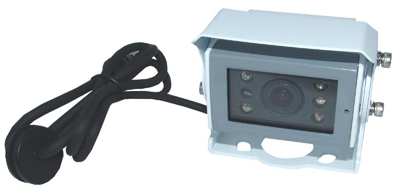 RFK PAL 1/3 Zoll Sony CCD-HR, 150°, Aufbau, Mikro, IR, Weiß