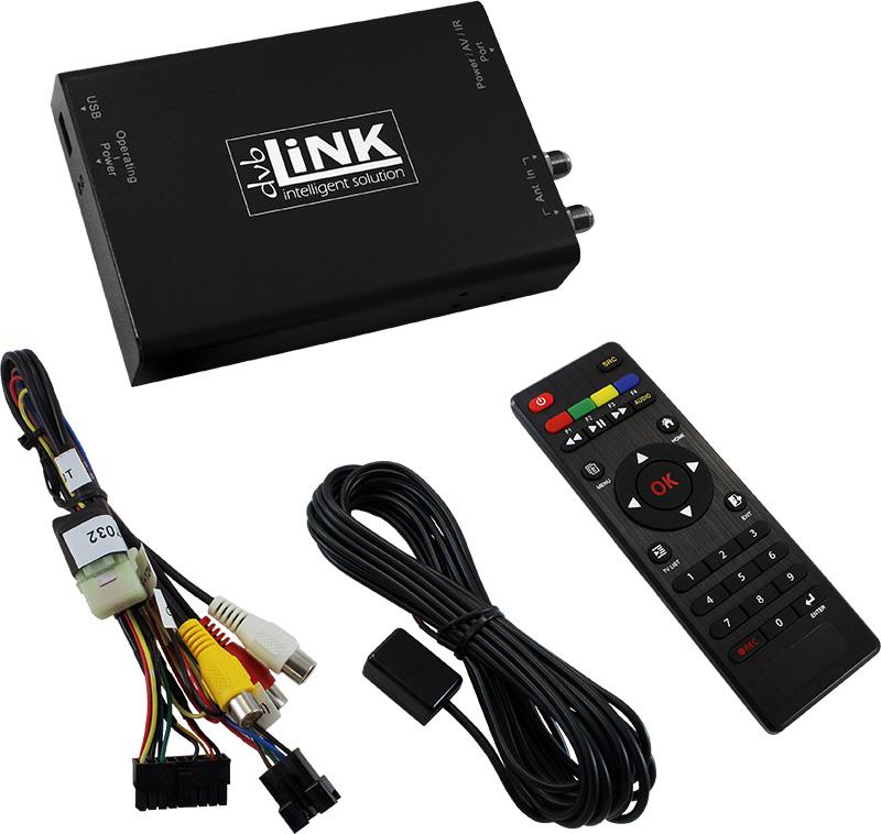 dvbLiNK51 dualer DVB-T2 Tuner H265/H264/HEVC, USB
