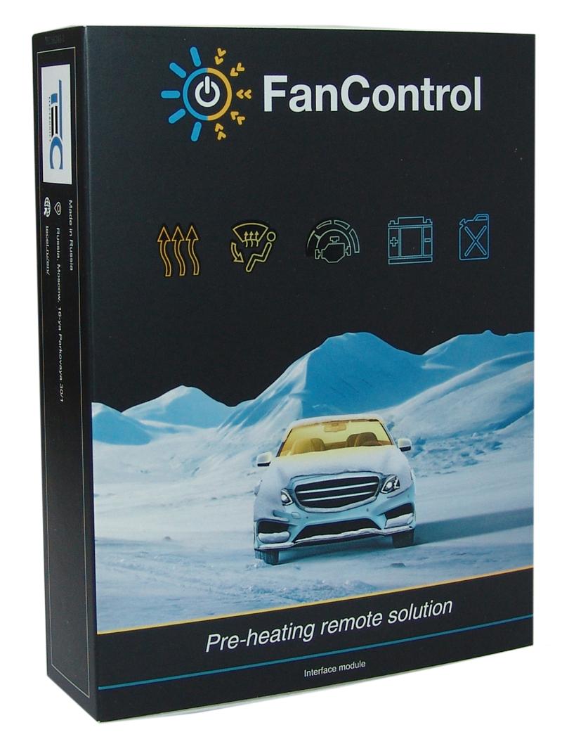 FanControl mit GSM für diverse Fahrzeugtypen