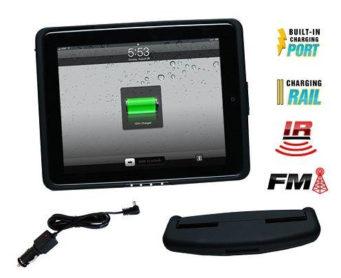 ** inCarBite Kopfstützenhalter iPad1 + FM, IR, Ladefunktion