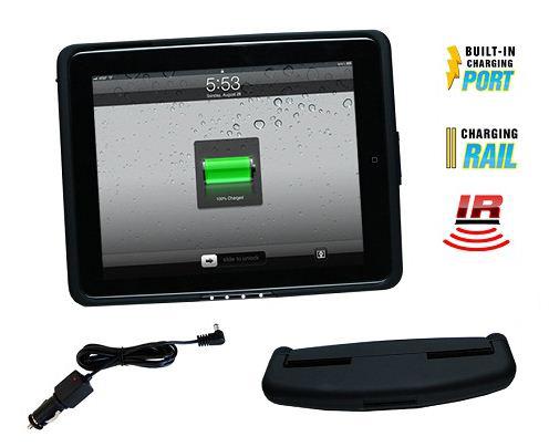 **inCarBite Kopfstützenhalter iPad1 + IR, Ladefunktion