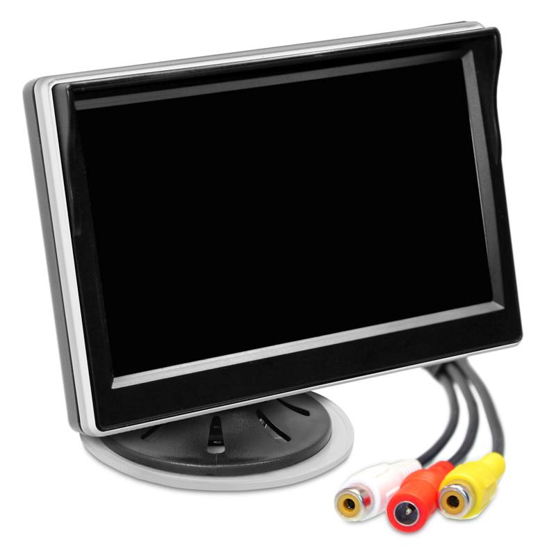 TFT LCD Monitor 5 Zoll 16:9 für Kamera, 12V