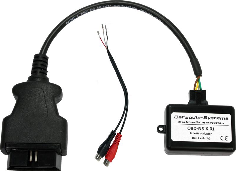 AUX-Icon Aktiv. passend Mercedes Comand Online NTG5-205/222