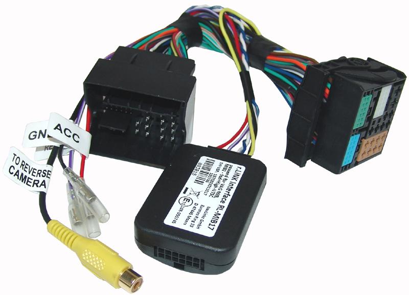 r.LiNK Interface passend für VAG MIB, MIB2 - Std+High-NTSC