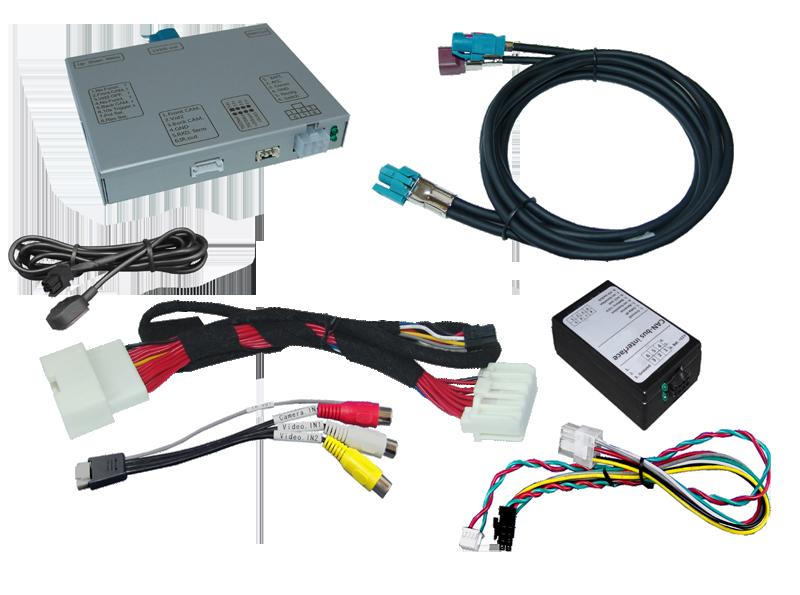 r.LiNK Interface passend für Maserati Touch Control 2014