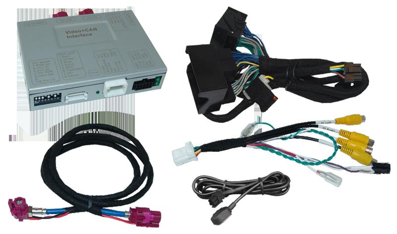 Video-Einspeiser passend für JLR Modelljahr 2016- PNP APIX2