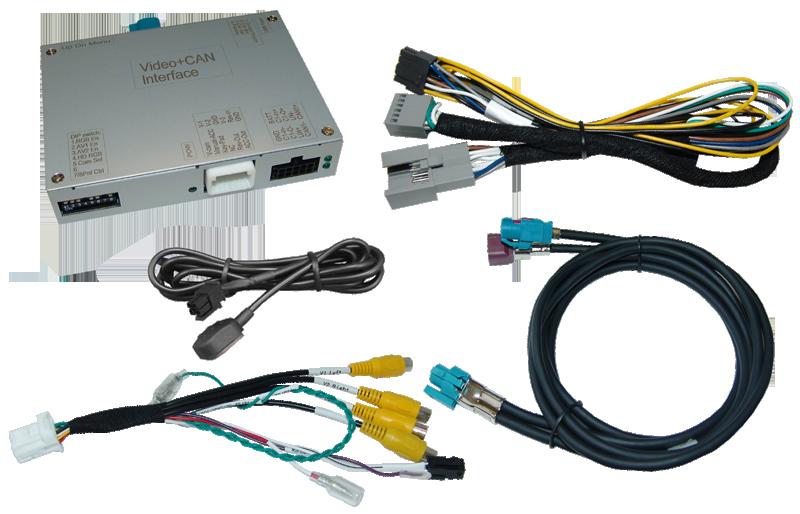 Video-Einspeiser passend für VAG MIB Standard/High