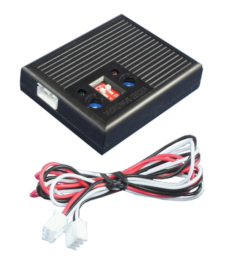 Radar/Mikrowellen Sensor mit Voralarm