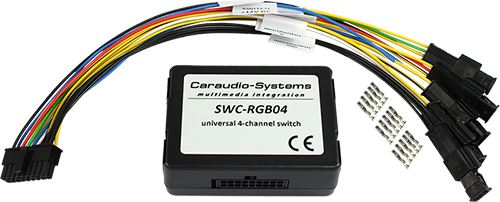 Universeller 4-Kanal RGB-Wechselswitch