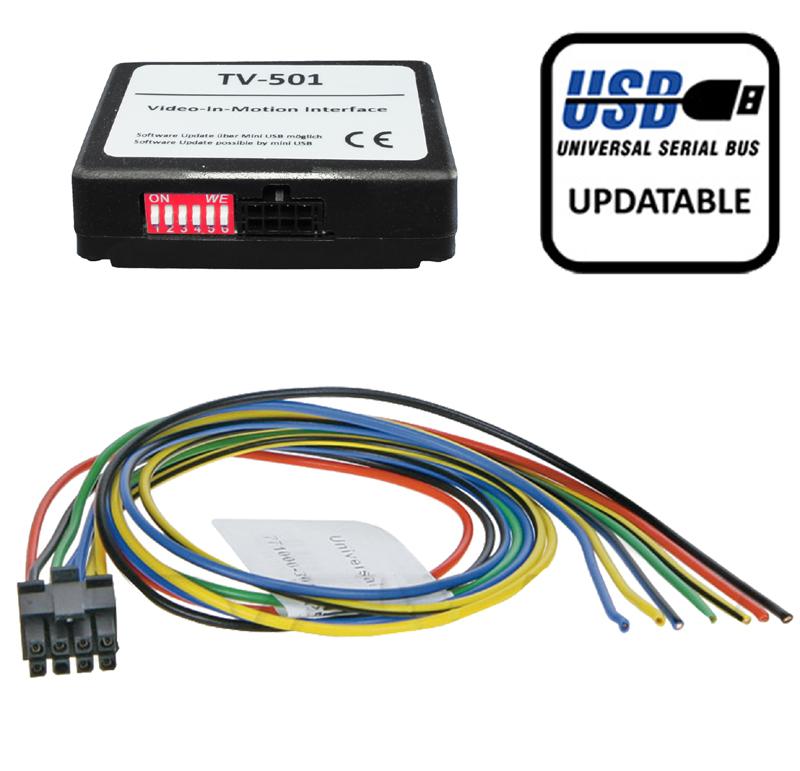 Universal TV-Frei Low Speed CAN Ausführung m. Update-Port