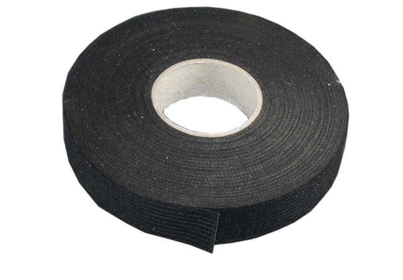 Vlies-Klebeband schwarz, 19mm Breite, 20m Länge