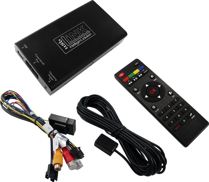 usbLiNK3 USB-AV-Player Stand-Alone mit Fernbedienung