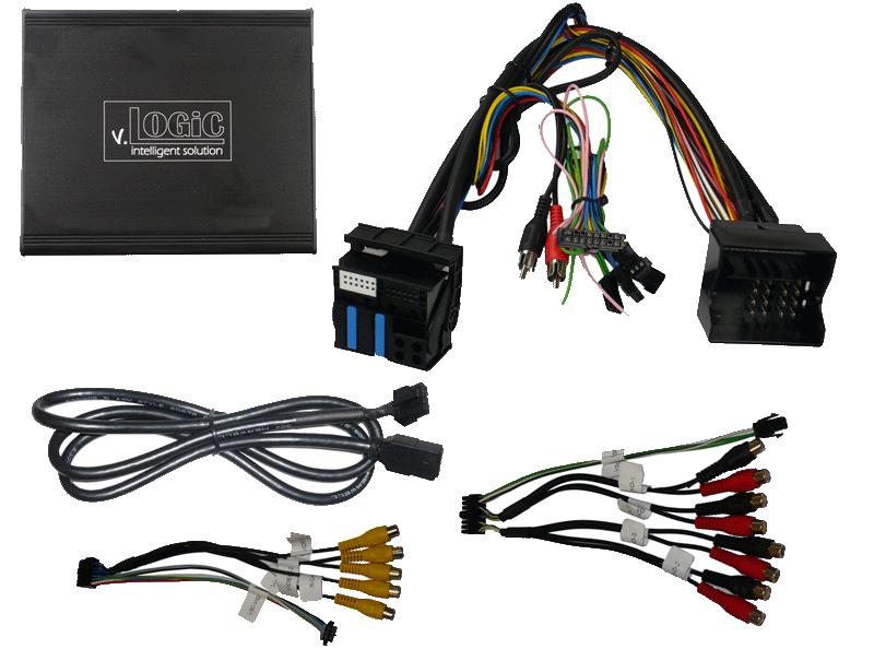 v.LOGiC Media-Controller passend für BMW M-ASK/CCC, 10-Pin