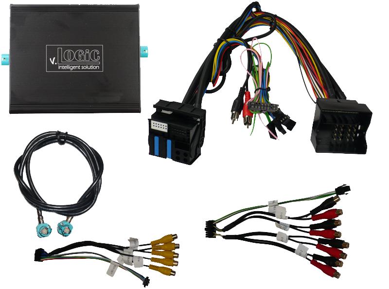 v.LOGiC Media-Controller passend für BMW E-Serie, 4-Pin HSD