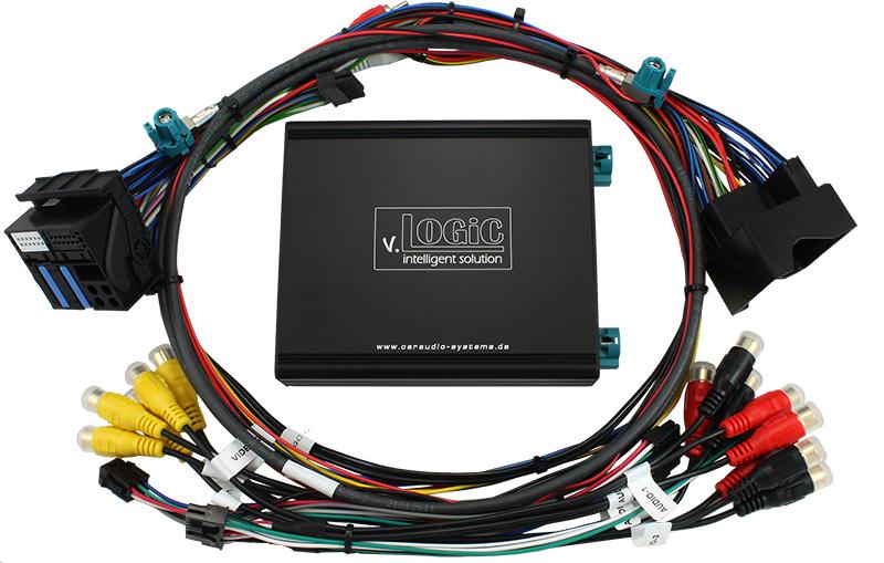 v.LOGiC Media-Controller passend für BMW NBT, HSD+2
