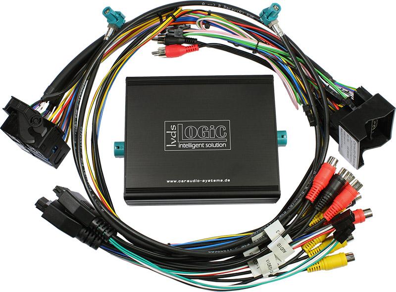 v.LOGiC Media-Controller passend für MB NTG4.5, 4-Pin HSD