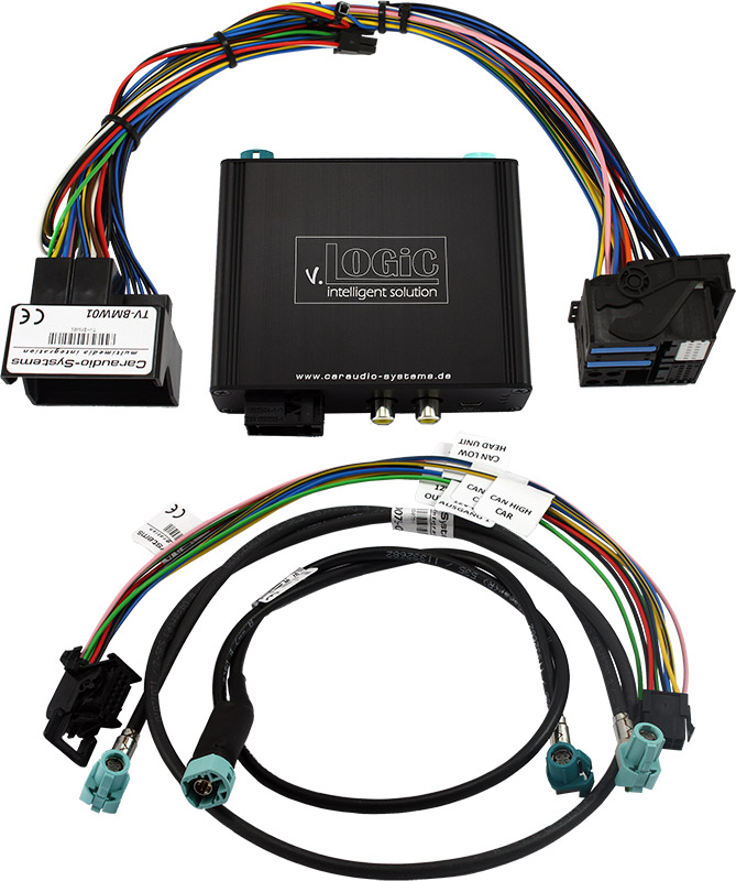 v.LOGiC Kamera Interface passend für BMW 4-Pin HSD E-Serie