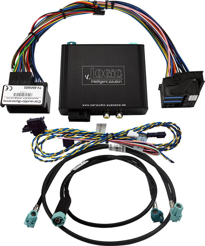 v.LOGiC Kamera Interface passend für BMW 4-Pin HSD F-Serie