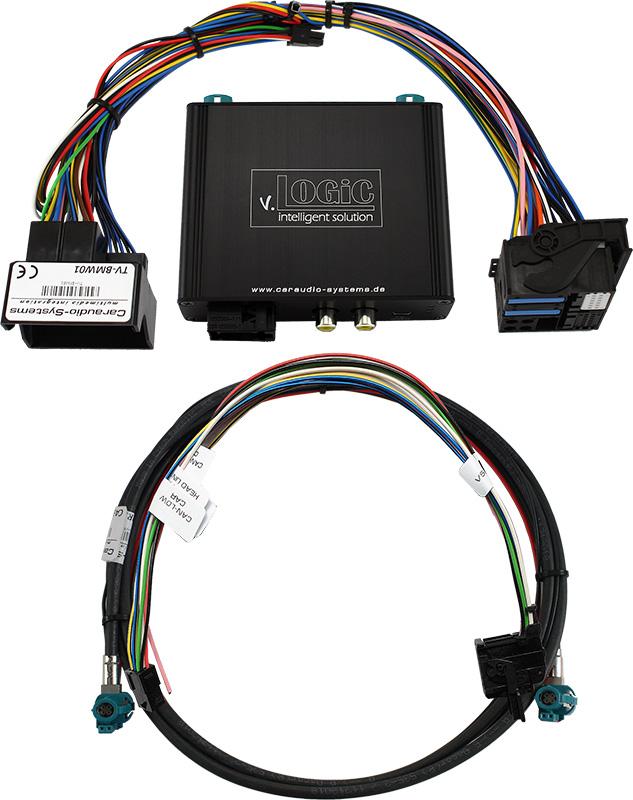 v.LOGiC Kamera Interface passend für BMW NBT´, HSD+2