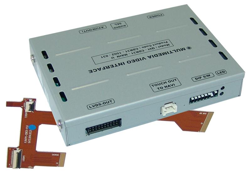 **v.LiNK Interface passend für Porsche CDR31