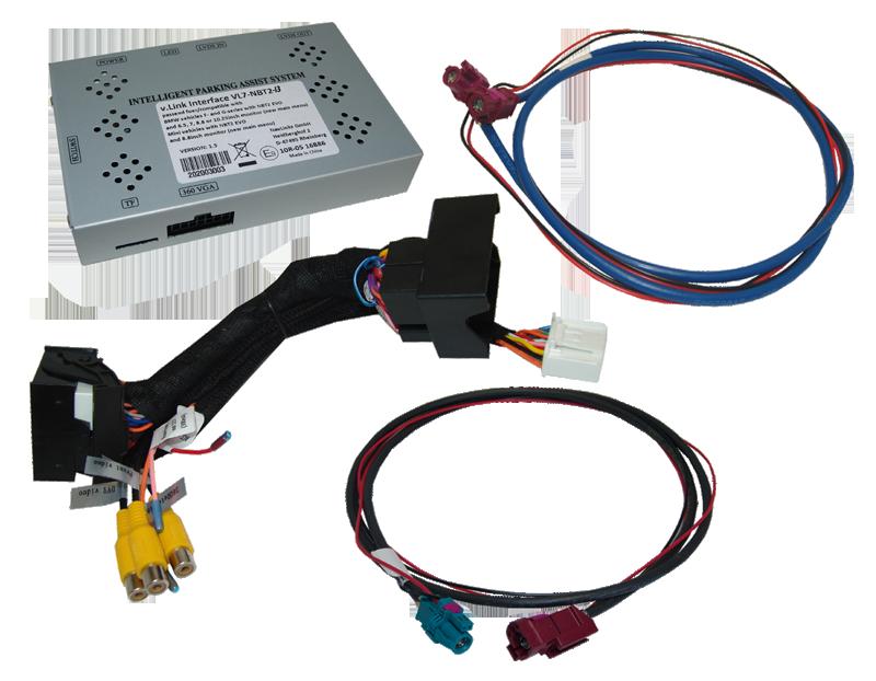 v.LiNK Interface passend für BMW NBT2 i3, HSD+2
