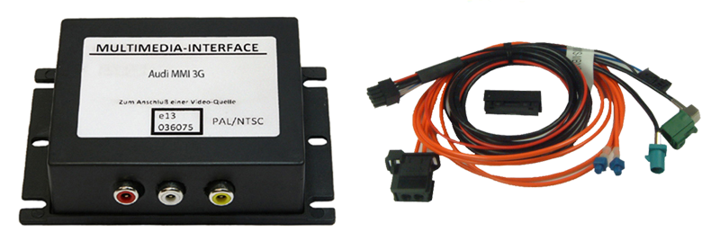 z.LiNK Interface passend für Audi MMI3G, VW RNS850